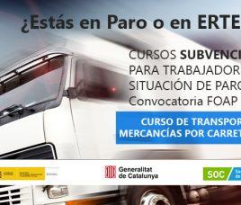 Cursos subvencionats per treballadors en situació d'atur o ERTO